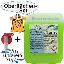10 Liter Glanzreiniger & Zapfhahn Oberflächenreiniger Glanzreiniger Wischpflege