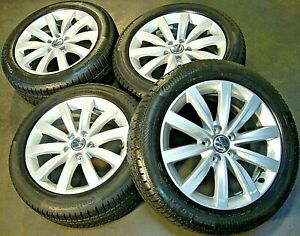 Orig VW Sharan Winterräder 225/50 R17 98H Continental 7J ET39 Sydney 7N0601025C