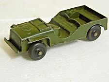 Tootsietoy 1950's Willys Army Jeep, Nice Original Condition
