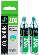 Slime Set 2 Cartuchos De 1 CO2 Rosca De 20 Gramos, Para Todos :