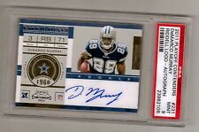 "2011 Playoff Contenders DeMarco Murray RC Auto SP PSA 9  ""Eagles"""
