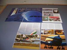 VINTAGE..AIRBUS A380...PHOTOS/HISTORY/DETAILS..RARE! (651L)