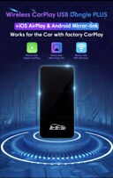 Wireless Apple CarPlay MMB Adapter Airplay Android Mirror Link/ Video In Motion