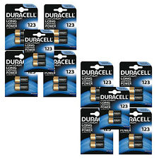 20 x DURACELL 123 BATTERY LULTRA LITHIUM 3V EL123A CR123A DL123A