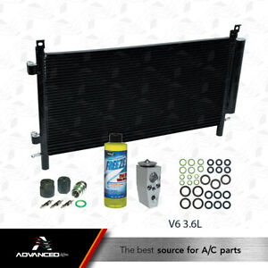 New A/C AC Condenser KIT Fits: 2010 - 2011 Chevrolet Camaro V6 3.6L ONLY