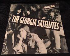 Georgia Satellites DOUBLE SIDED 12 x 12 Flat Record Store Promo Poster