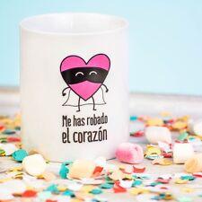 """Mr. Wonderful Taza """"Me has robado el corazón"""""""