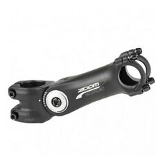 "Attacco manubrio AHEAD regolabile bici bicicletta ZOOM 1.1/8"" 125mm 0-60° 25,4mm"