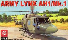 WESTLAND LYNX AH 1 / MK 1 (BRITISH ARMY MARKINGS) 1/72 PLASTYK