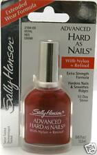 Lot of 6 Sally Hansen Hard As Nails Royal Red Creme #2764-05