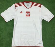 KOSZULKA PIŁKARSKA RETRO POLAND 1986 ADIDAS FOOTBALL HOME SHIRT SMALL ADULT