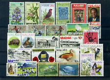 nice lot MALAWI, all postally used