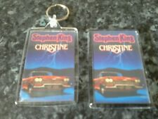 Christine Keyring and Magnet Set. Stephen King Book Art. Plymouth Fury