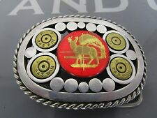 Country Southwestern Style Hunting Hunter Belt Buckle