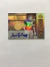 6/10 Forrest Gregg Packers Autograph + 14K GOLD 2011 Gold Standard Golden Age