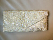 Vintage Beaded Sequin Clutch Never Used