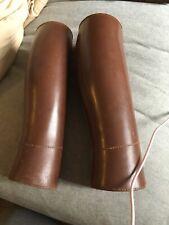 Leather Ww2 Leg Guards Swiss