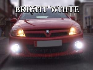 FOR VAUXHALL ASTRA H 2004+ VXR LED Fog Light Bulbs XENON 6000K WHITE ERROR FREE