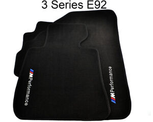 Floor Mats For BMW M3 Series E92 E92LCI With M Perf LHD Clips