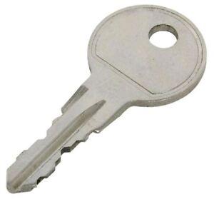 Thule Bike Carrier & Rack Keys Cut to Code Number $15.00-FREE POST.