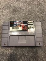 Dig and Spike Volleyball SNES Authentic ( SNES 1992) Working Game Only