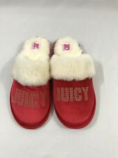 Nwt Juicy Couture Women's Slippers Size M