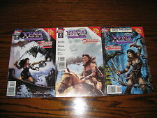 Topps - XENA - The Orpheus Trilogy 1 - 3 Complete Series!! Glossy VF  1998