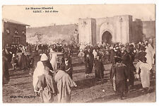 CPA MAROC RABAT - BAB EL ALOU 1917