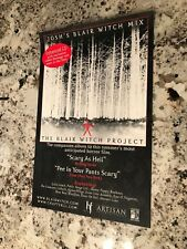 The Blair Witch Project Rare Soundtrack movie poster - 11x17