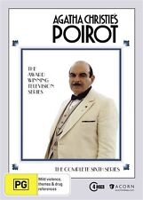 Poirot Series 6 NEW R4 DVD