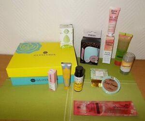 ☘ Kosmetik-/Beauty-Set mit Glossybox Karton *mine*kndr*mélusine ☘ NEU ☘
