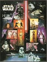4143, Star Wars 30th Anniversary Sheet of 15 - 41 Cent Stamps - Stuart Katz