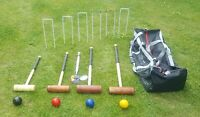 uber Family Croquet Set 4 Players