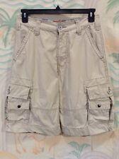 Levi's Men's Squad Cargo Shorts Size 29 Beige Eight Pockets Khaki Levi Strauss