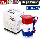 US 1100GPH 12V Electric Marine Submersible Bilge Sump Water Pump for Boat Yacht photo