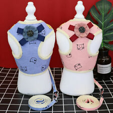 Soft Dog Harness and Leash for Small Dogs Set Mesh Padded Puppy Vest Chihuahua
