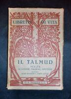 Ebraismo - Storia contemporanea - Libretti di vita - Il talmud - 1924 c.a