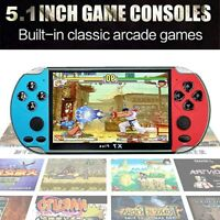 5.1'' 8GB Retro Handheld Game Console Portable Video Game Built in 10000 Games