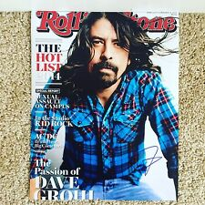 Dave Grohl Signed Autograph 11x14 Rolling Stone Cover Nirvana / Foo Fighters USA