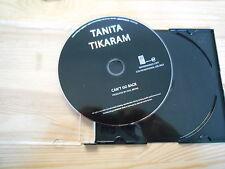 CD POP Tanita Tikaram-can 't Go Back (1) canzone PROMO Ear Music/Edel disc only