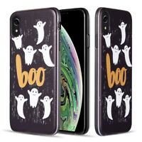 Halloween Rubber Phone Case Fits Iphone XS Max / X / XR / 8  7 / 6s 6 Plus