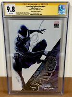 Amazing Spider-Man #800 CGC 9.8 SDCC SS J Scott Campbell Black Variant Cover I