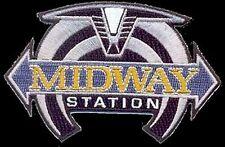 Stargate SG1  Atlantis Universe-  Midway Station  -Uniform  Patch  Aufnäher  neu