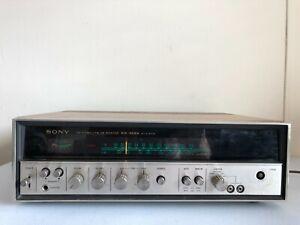 Sony STR-6036A Receiver Vintage HiFi Stereo AM/FM Tuner Phono Wood Grain Silver