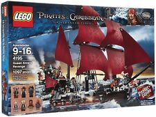 Lego Pirates of the Caribbean 4195 Queen Anne's Revenge Retired BNIB Sealed