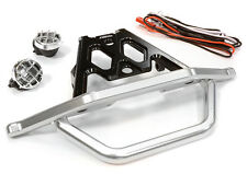 C26043BLACK Integy Machined Front Bumper Set w/LED Lights for Axial 1/10 Yeti
