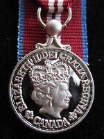 Canadian Queen Elizabeth Diamond Jubilee Miniature Medal