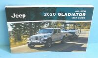20 2020 Jeep Gladiator owners manual/user guide with Navigation