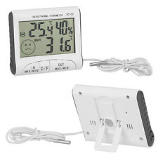 Digital Thermometer Hygrometer Max Min Temperature Humidity Indoor Outdoor HYSG