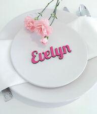 Decorazioni rosa per il matrimonio, personalizzata